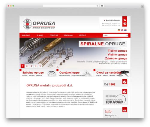 Afterburner Wordpress Theme WordPress theme design - opruga.hr