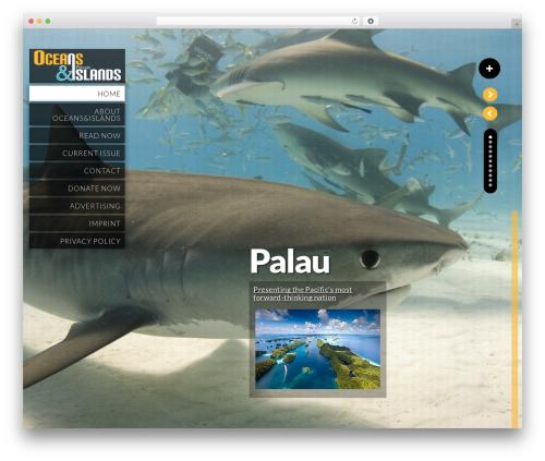 Kaleido for WordPress WordPress template - oceansandislands.org