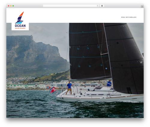 Bridge WordPress template - oceansailing.co.za