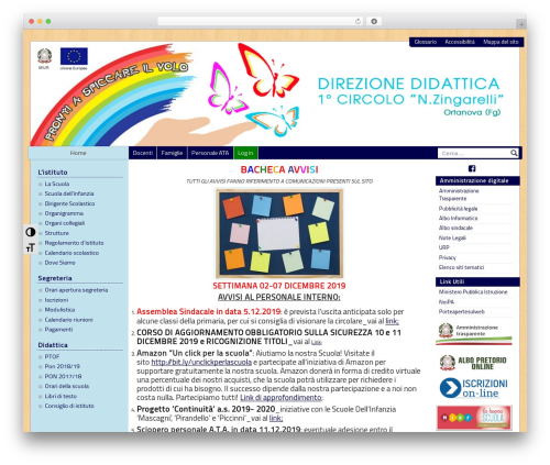 PASW 2015 theme WordPress - ortanovaprimocircolo.it