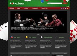 Poker Press Premium Theme theme WordPress