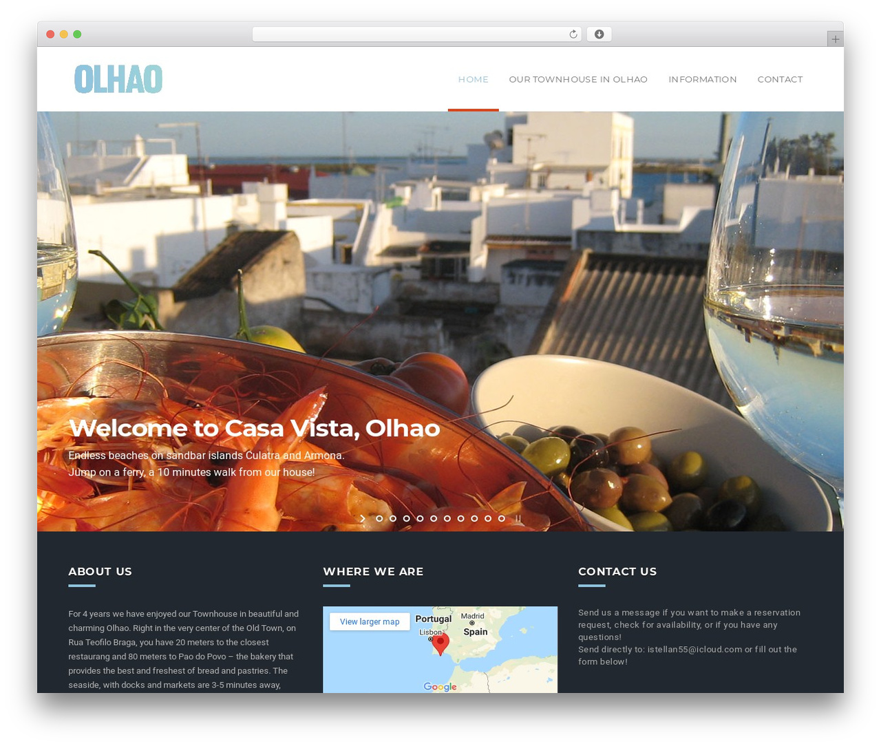 WP template California - olhao.se