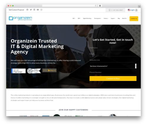 WordPress vimeoyoutubepopup plugin - organizein.com