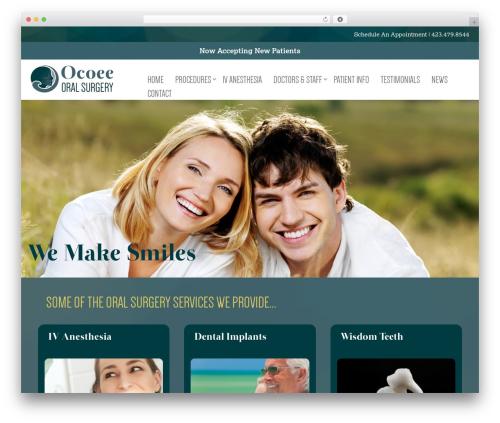 Best WordPress theme Gantry Theme for WordPress - ocoeeoralsurgery.com
