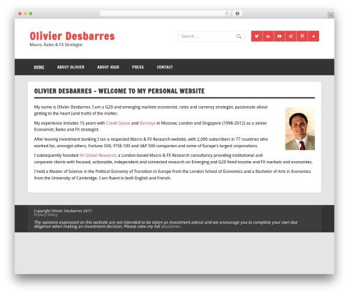 Dynamic News WordPress magazine theme - olivierdesbarres.co.uk