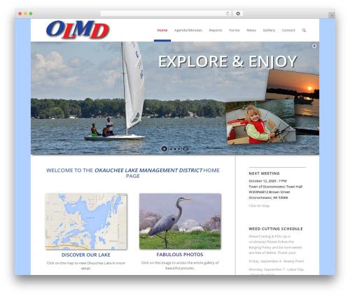 Enfold theme WordPress - olmd.org