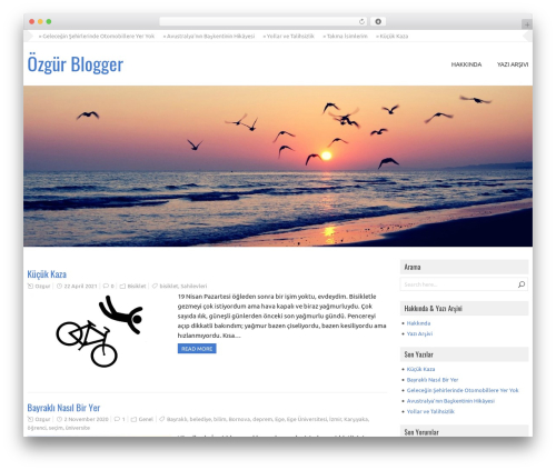 GalaNight Premium WordPress blog theme - ozgurblogger.com