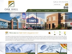 oakhallcompanies business WordPress theme