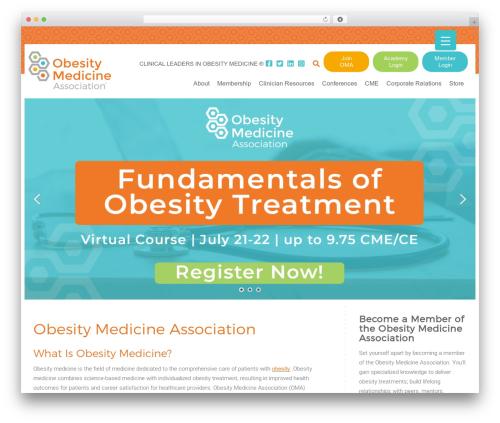 Template WordPress TwentyTen Five - obesitymedicine.org