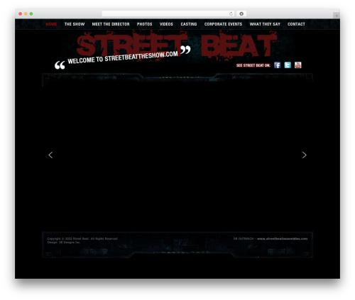 WordPress theme Agivee - streetbeattheshow.com