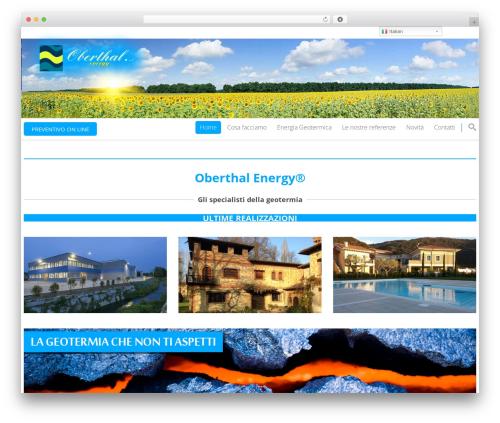 WordPress theme Smart7 - oberthal.it