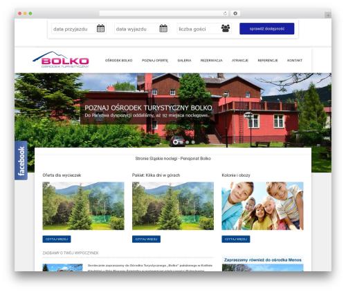 Hotec theme WordPress - osrodekbolko.pl