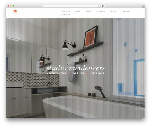 Visia WordPress theme - studiomeuleneers.de