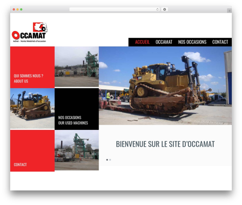 WordPress theme Klasik - occamat.eu