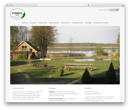 WP theme Stay - stirnele.com