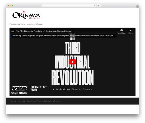 Sydney WordPress theme download - okinawaconsulting.com
