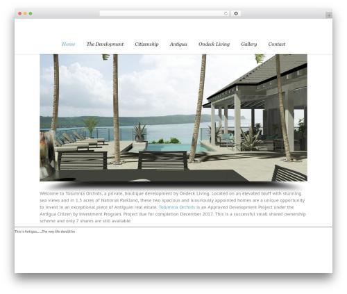 Lounge WordPress theme - ondeckliving.com