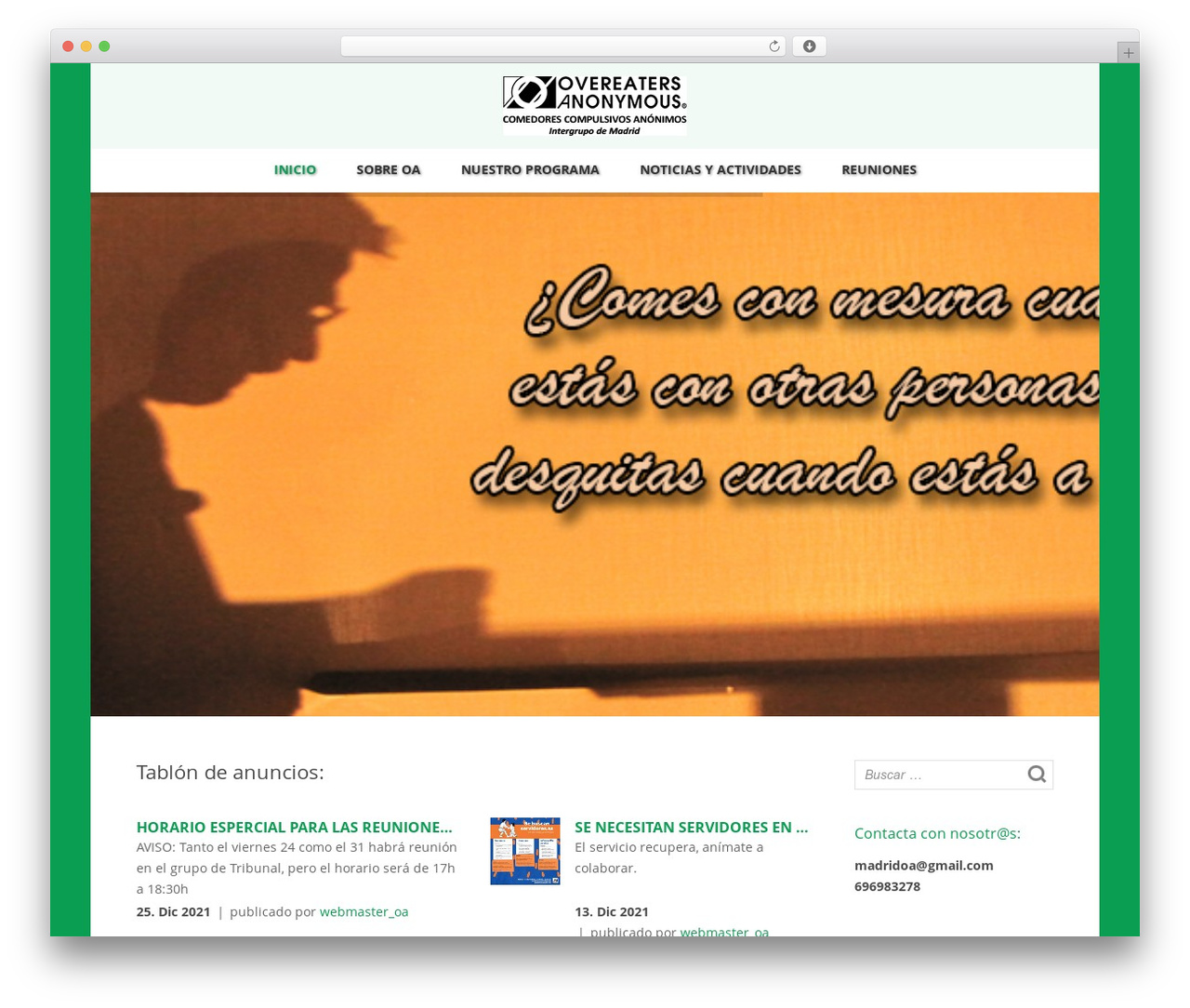 Spa WP theme by Kayapati - oamadrid.es