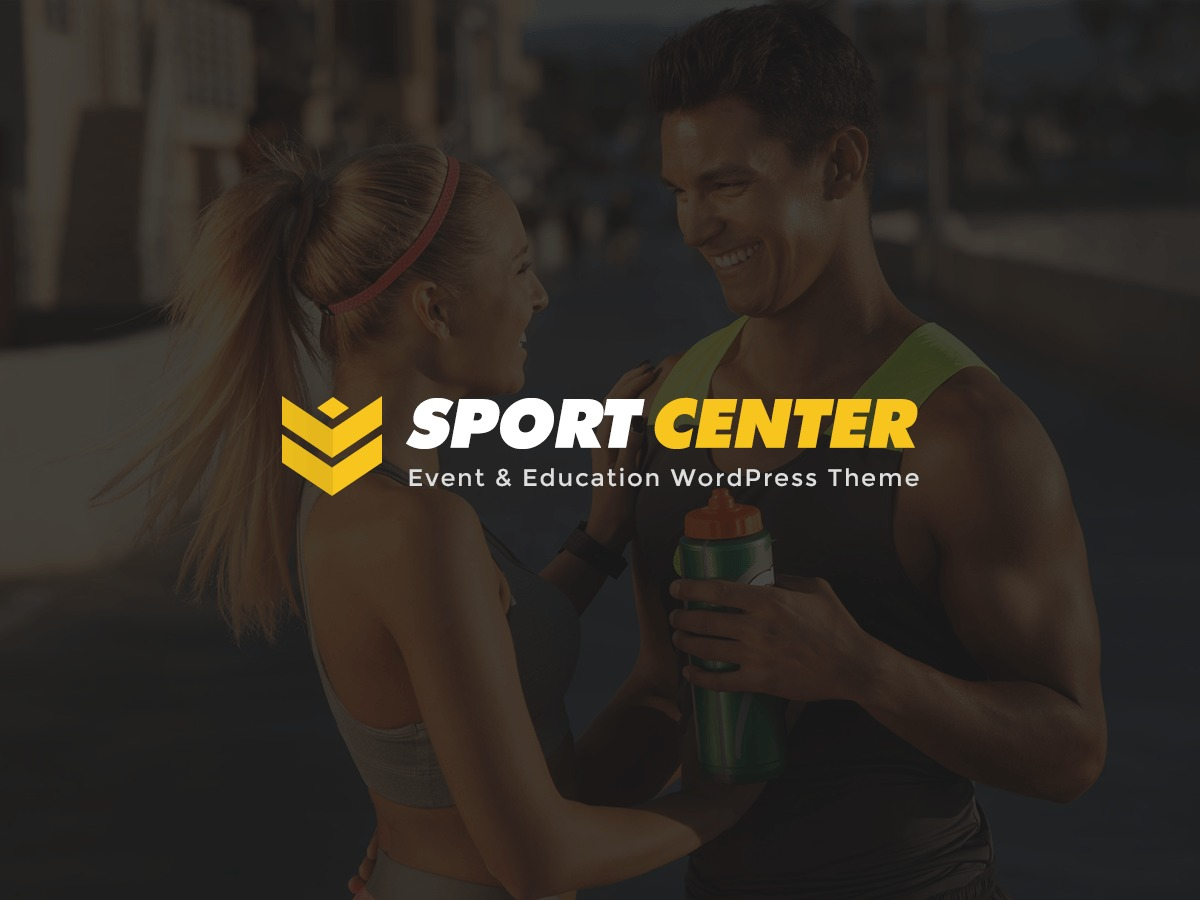 SportCenter Child fitness WordPress theme