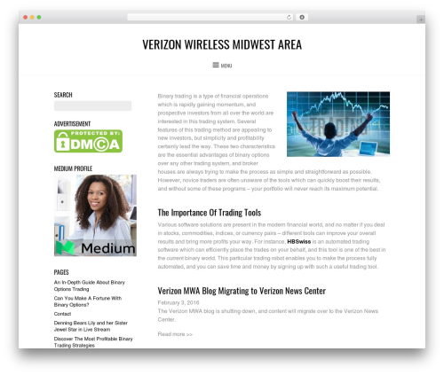 Themify Bold template WordPress - vzwmidwestarea.com