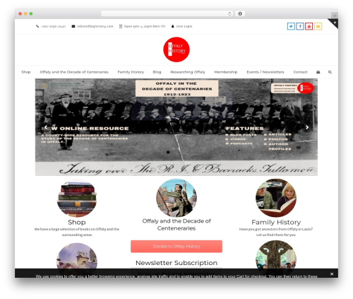 Total best WordPress theme - offalyhistory.com