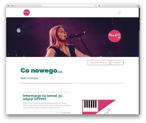 WordPress template Betheme - ofp.mgokwozniki.com