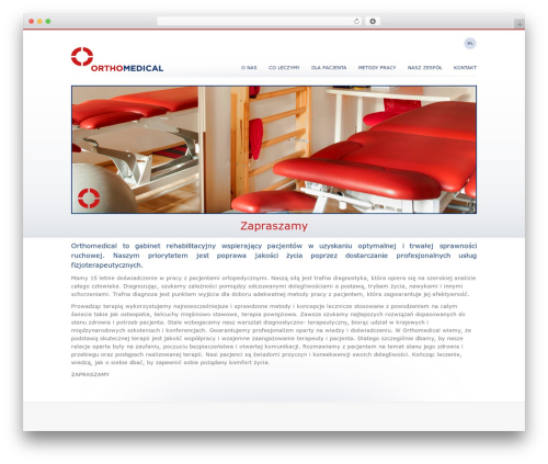 Blank Theme theme WordPress - orthomedical.pl