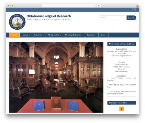 Education Hub free website theme - oklahomalodgeofresearch.com
