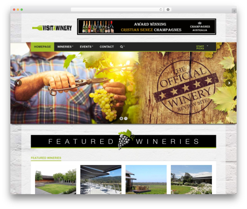 Goliath WP template - visitawinery.com.au