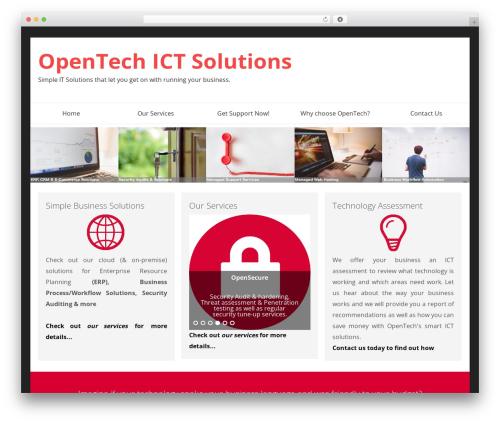 SmartShop WordPress ecommerce template - opentech.co.nz