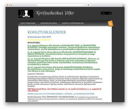 Snowblind template WordPress free - vilkokool.ee