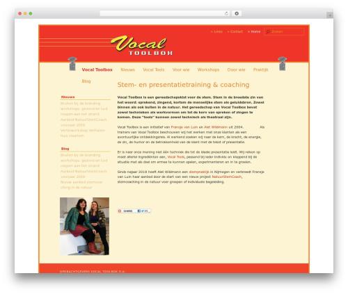 twenty eleven child WordPress shopping theme - vocaltoolbox.nl