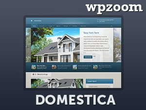 WordPress template Domestica