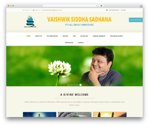 Free WordPress CodeFlavors floating menu plugin - vssmission.in