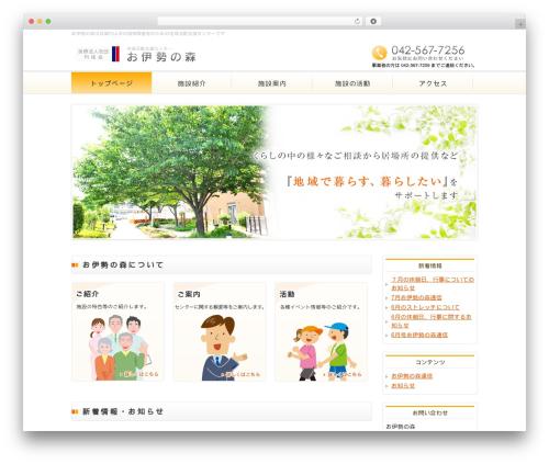 Best WordPress template responsive_041 - oisenomori.com