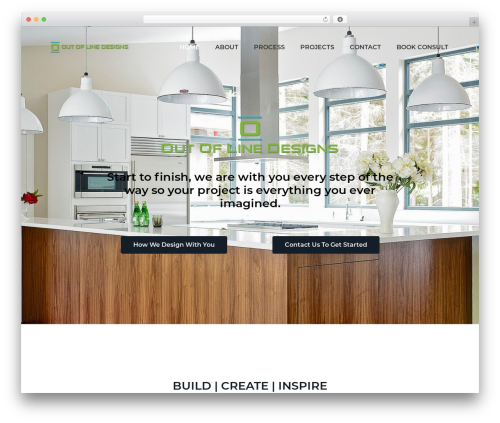 Business Pro WordPress page template - outoflinedesigns.ca