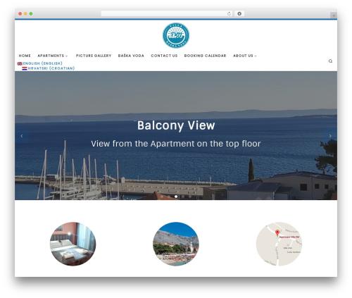 Customizr template WordPress free - villa-dm.com