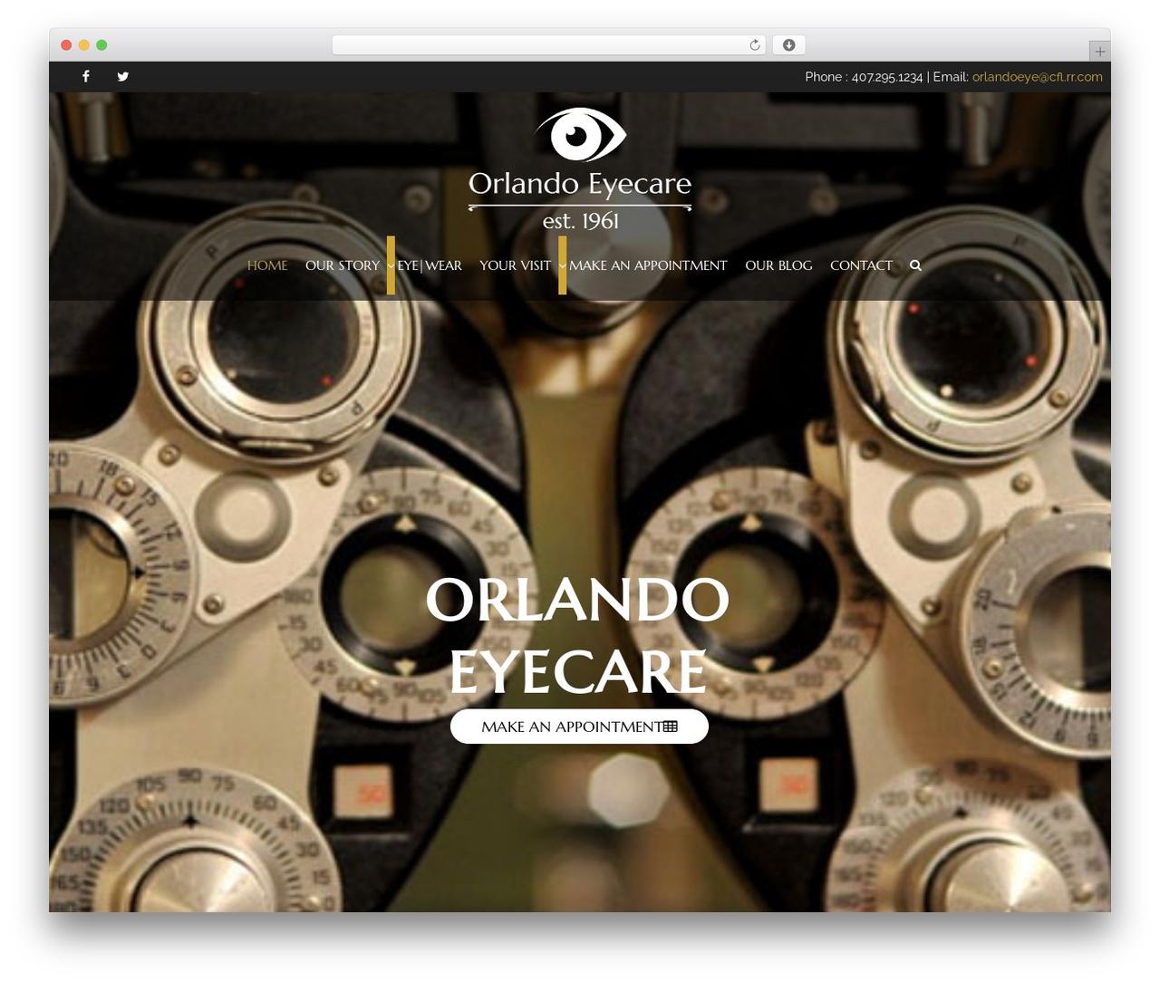 Theme WordPress HorseClub - orlando-eyecare.com