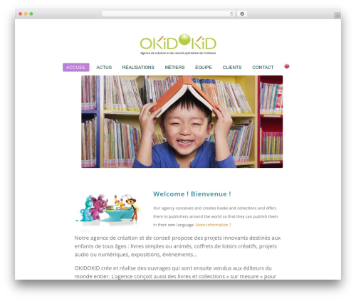 Total WordPress template free download - okidokid.fr