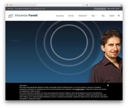 WordPress template JV Allinone - vincenzofanelli.com