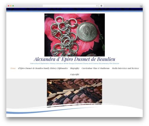 WP template Longevity - alexandradepirodusmetdebeaulieu.net