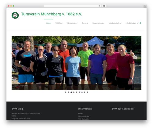 Ample theme WordPress free - turnverein-muenchberg.de