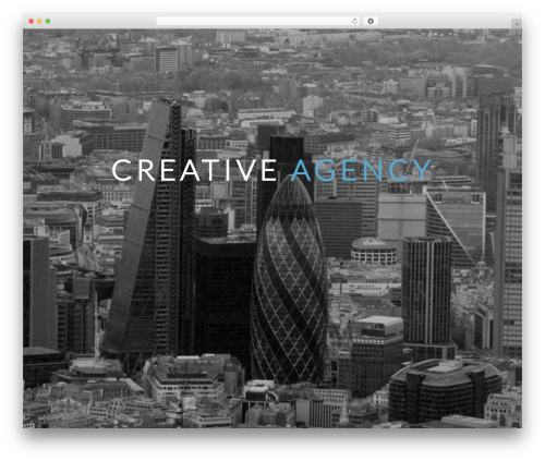 Best WordPress template Nervaq - thedconcept.com