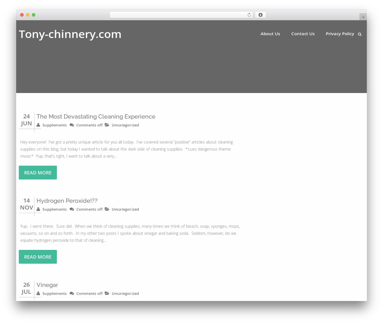 Best WordPress template Swiftbiz Lite - tony-chinnery.com