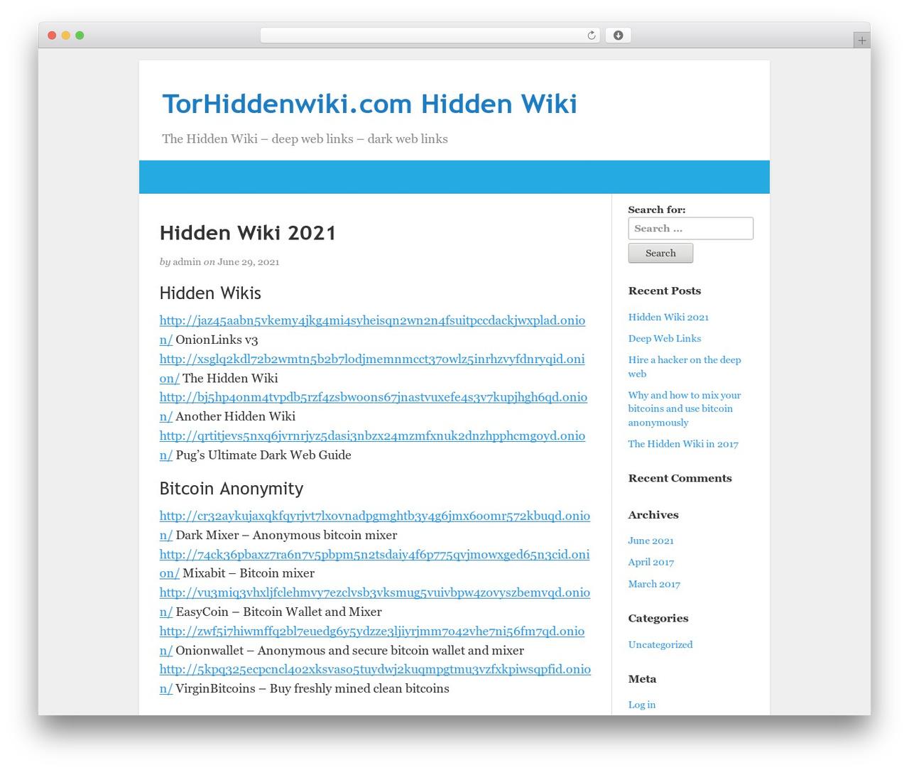 BlogKori theme WordPress free by Tamal Anwar - torhiddenwiki com