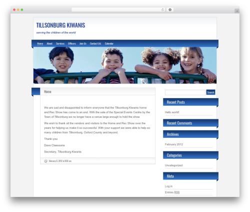 BlogoLife free website theme - tillsonburgkiwanis.com
