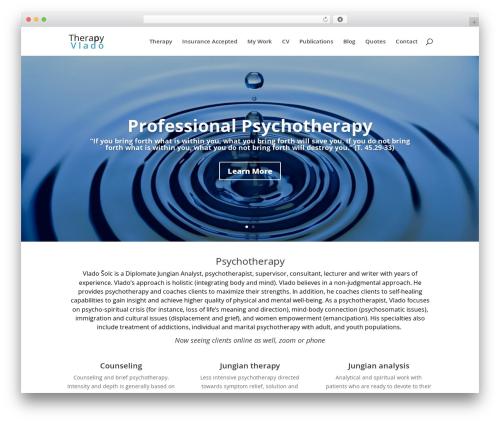 WordPress monarch plugin - therapyvlado.com