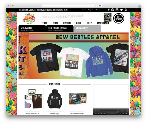 Fest WordPress theme - thefest.com