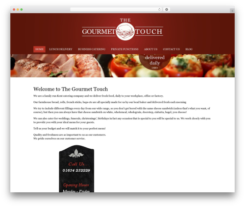 WordPress double-opt-in-for-download plugin - thegourmettouch.co.uk