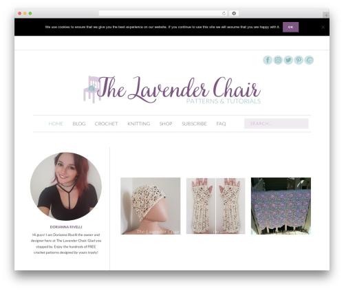 OceanWP WordPress theme download - thelavenderchair.com